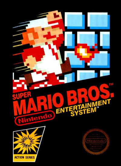 Mario sur Nes en 1985