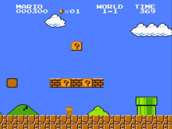 Mario Bros sur NES en 1985
